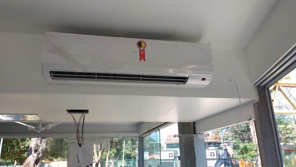Como é a instalação do Ar Condicionado Split