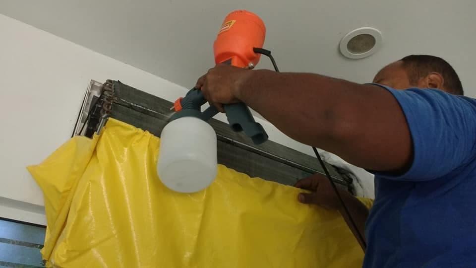Limpeza de Ar Condicionado Clínica Jorge Jober